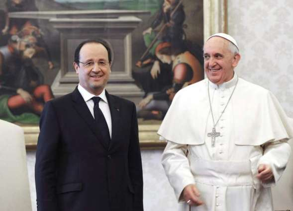 France's Hollande to meet pope after priest killing