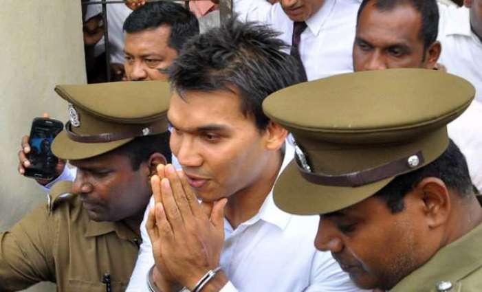 Sri Lanka remands Rajapakse's son in money laundering case