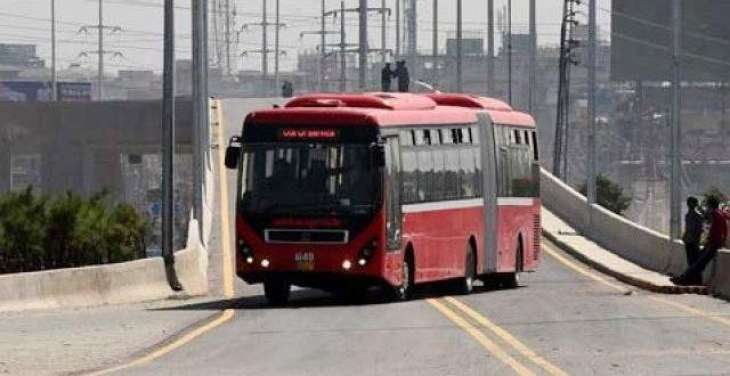 Work on Metro Bus route near completition