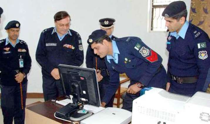Police Communication System launched in Islamabad