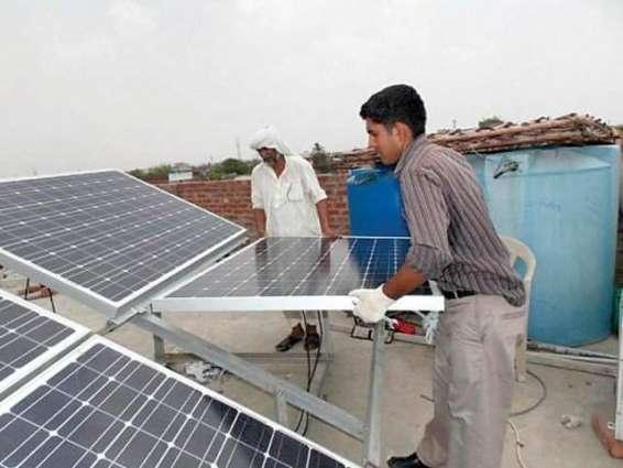 Sale of solar energy equipment increasing