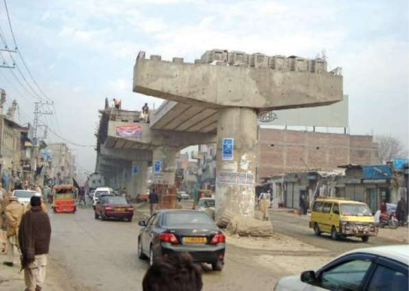 Takht Bhai Railway flyover to be completed within a couple of weeks