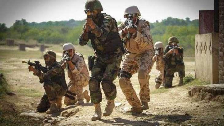 پاک فوج وادی راجگل اٹی پاک اوغان سیم تون آپریشن نا بناءِ کرے