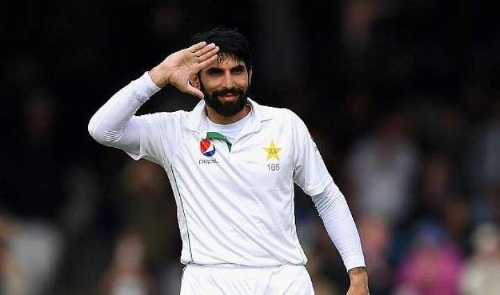 اوول میچ دی فتح دے نتیجے وچ آن والے دِناں نوں پاکستان دی ٹیسٹ کرکٹ ٹیم نوں فائدا ہووے گا: مصباح