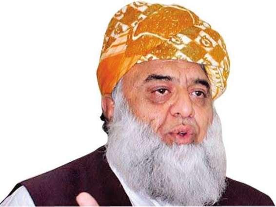 Modi admits Indian involvemnt in subversive acts in Pakistan: Maulana Fazal