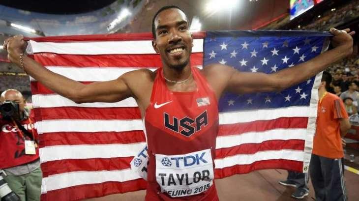 Olympics: American Taylor retains triple jump title