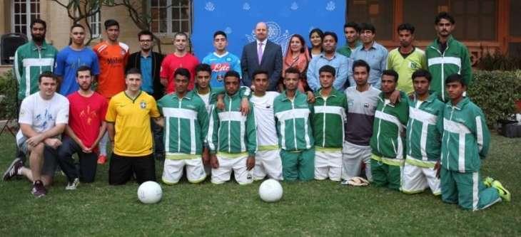 US Consul General hosts Baseball Clinic for Karachi Youth