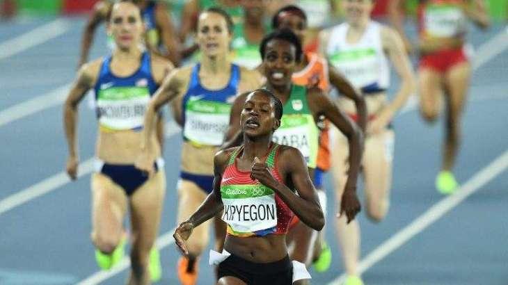 Olympics: Kenya's Kipyegon trumps Dibaba for 1500m gold