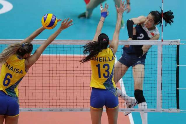 Olympics: Volleyball results