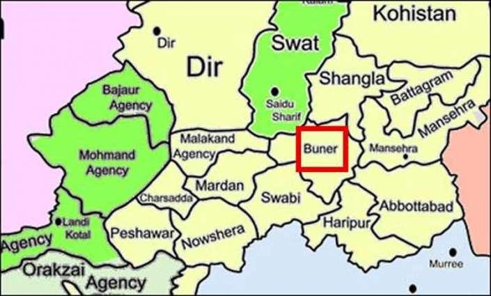Buner: Firing on DPO's car, DPO saved