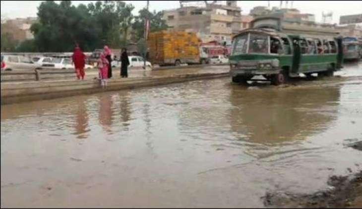 Sewerage line exploded in Quaidabad, Karachi