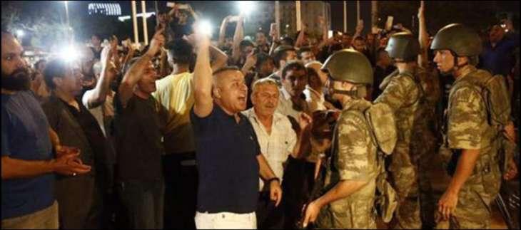 Turkey dismisses thousands more post-coup bid