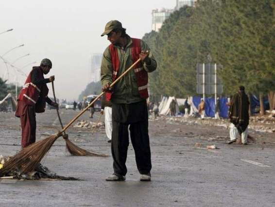 STFP launches cleanliness drive in hilly areas