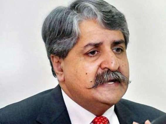 کراچی اچ جاری اپریشن سندھ دی صوبائی تے مرکزی حکومت ڈوہیں دی ذمے واری ہے ، سید نوید قمر