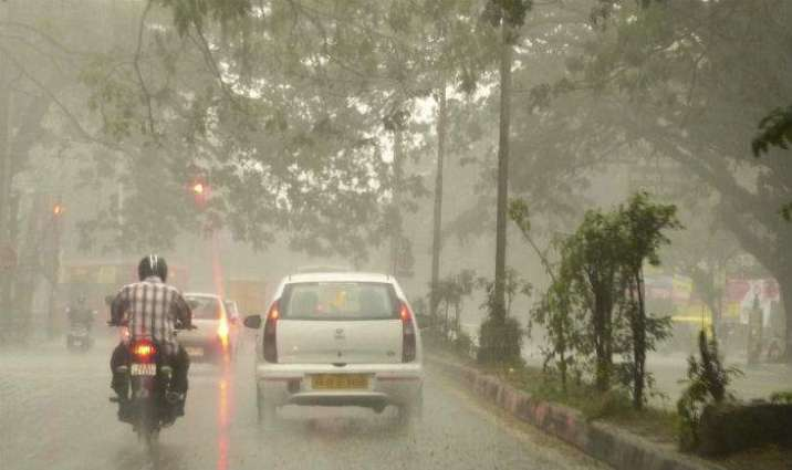 Rain-thunderstorm with gusty winds likely in upper region