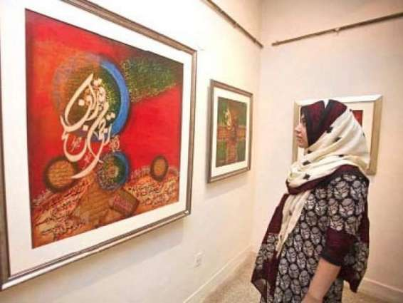 Nomad Art gallery exhibition in full swing