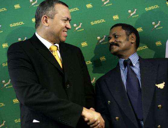 RugbyU: South African rugby president steps down