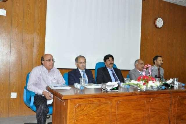 Seminar on Control of Transboundary Animal Diseases held at PMAS-AAUR