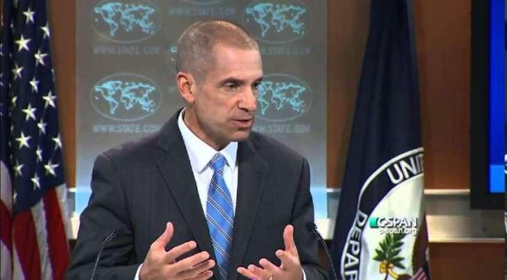 پاکستان و بھارت دہشت گردی نا برخلاف گام گیج آتیٹی کمکاری ءِ ودفر، امریکی ترجمان