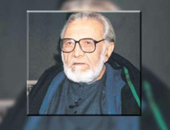 مشہور ادیب اشفاق احمد دا 91واں جنم دیہاڑ 22 اگست نوں منایا جائے گا
