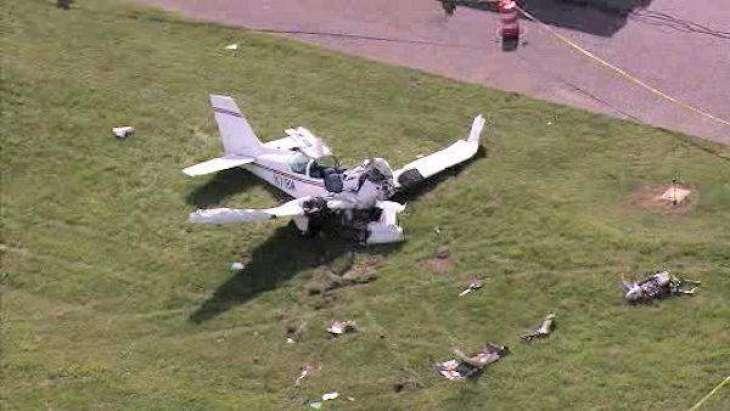 Two die in plane crash in northwestern Turkey