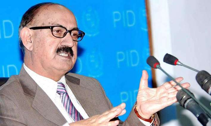 مزن وزیر ءِ مشیر عرفان صدیقی یے کلانئیں اھولکار زاہد ملک ءِ ھال پُرسی کُت