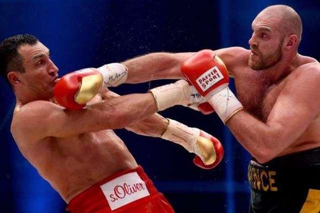 Boxing: Klitschko to take legal action against Fury