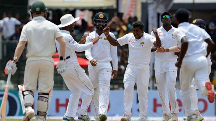 Cricket: Sri Lanka celebrates first Aussie whitewash