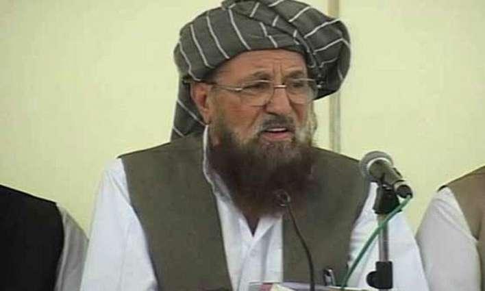 Afghan refugees delegation calls on Maulana Samihu Haq