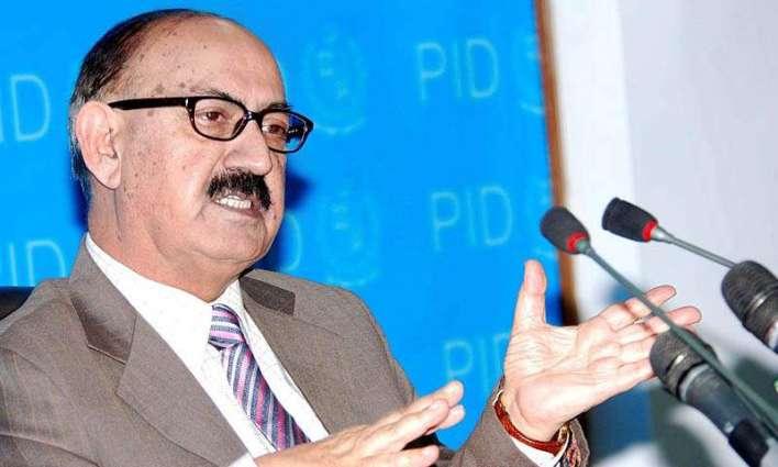 مزن وزیر ءِ مشیر عرفان صدیقی ءِ سینئر صحافی زاہد ملک ءِ ھال پرسی
