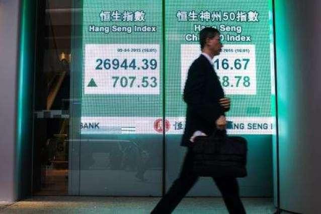 Hong Kong stocks rally at open after Fed minutes