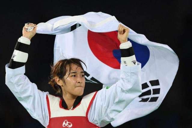 Olympics: South Korea's Kim So-hui wins taekwondo women's 49kg gold
