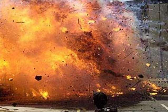 One killed, another injured in bomb blast