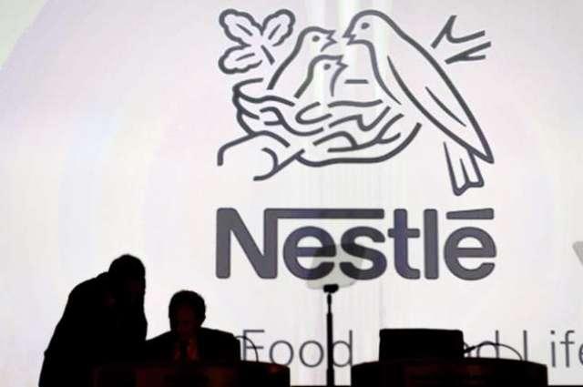 Nestle posts sluggish first half profits