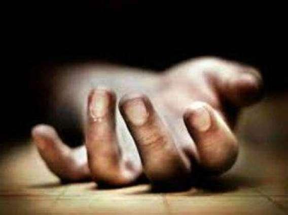 Mishap: labourer killed