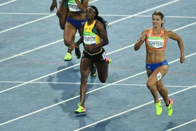 Olympics: Jamaica's Thompson wins 200m for sprint double