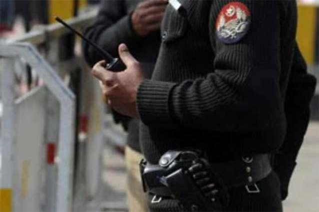 لاہور: مختلف علاقیاں وچ پولیس دا سرچ آپریشن، 12 بندے گرفتار
