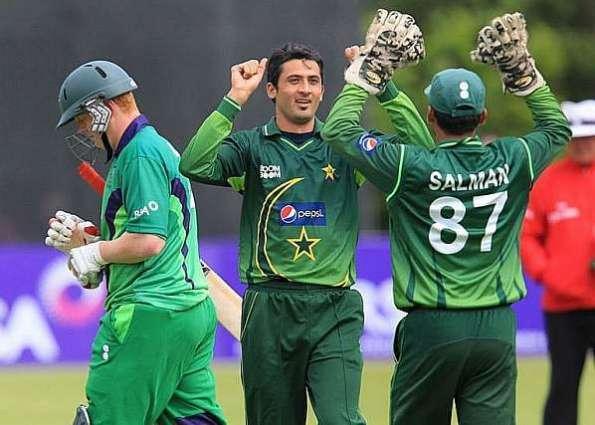 Cricket: Ireland bowl in rain-affected 1st Pakistan ODI