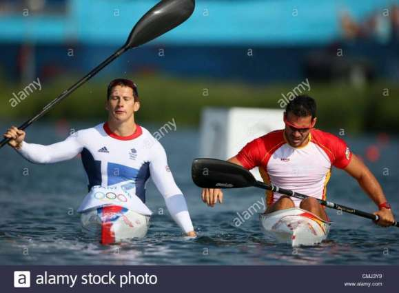 Olympics: Spain win men's double kayak 200m gold medal