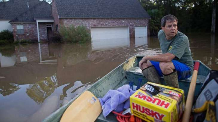 Louisiana death toll rises as flood waters recede