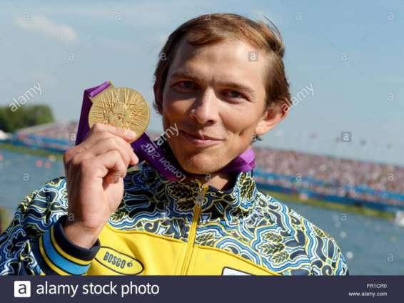 Olympics: Ukraine's Cheban wins men's single canoe 200m gold medal