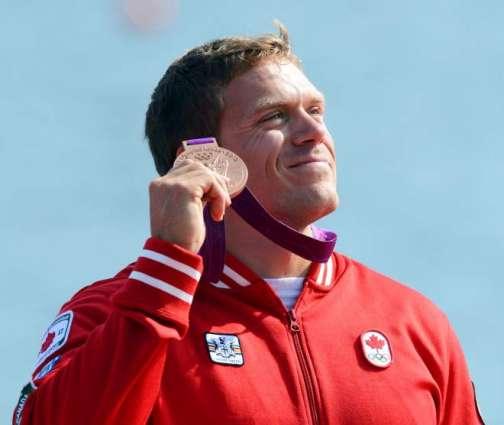 Olympics: Men's double kayak 200m podium