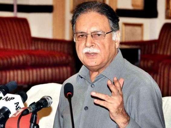 وفاقی وزیر پرویز رشید  دی  کراچی اچ ڈان نیوز ٹی وی چینل دی وین تے فائرنگ دے واقعہ دی مذمت
