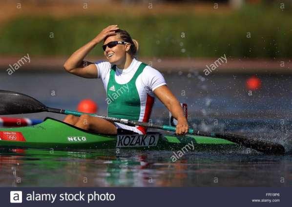 Olympics: Hungary's Kozak wins women's single kayak 500m gold