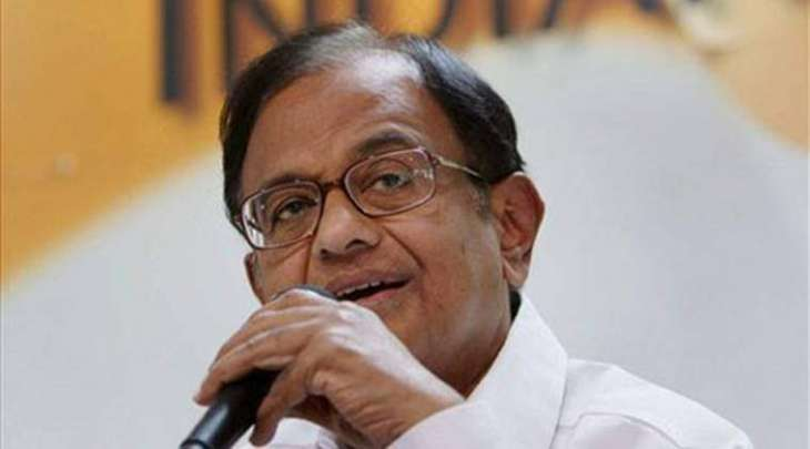 P Chidambaram blames BJP and PDP alliance for unrest in Indian Occupied Kashmir