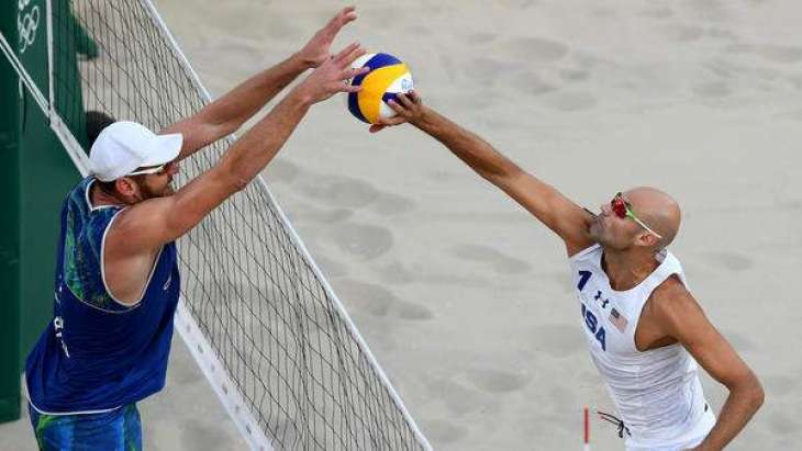 Olympics: 'Mammoth' leads Brazil to beach volleyball gold