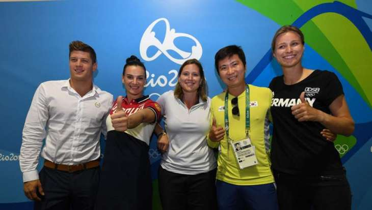 Rio Olympians elect four new members to IOC Athletes' Commission