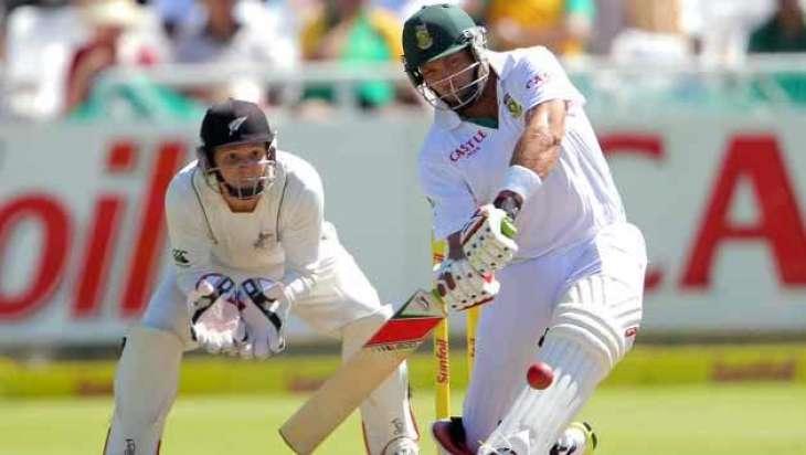 Cricket: South Africa bat against New Zealand