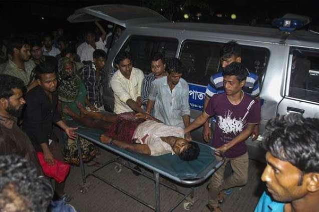 100 Bangladesh villagers injured after TV show dispute