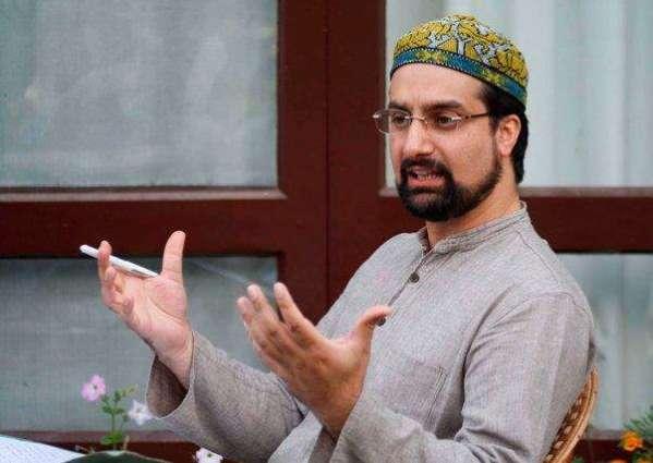 Mirwaiz asks India to allow UNHRC team to visit IOK